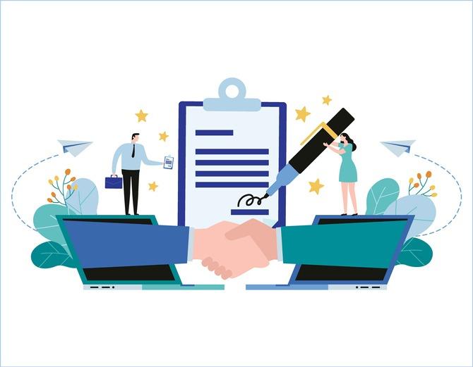 La signature électronique professionnelle, outil de digitalisation